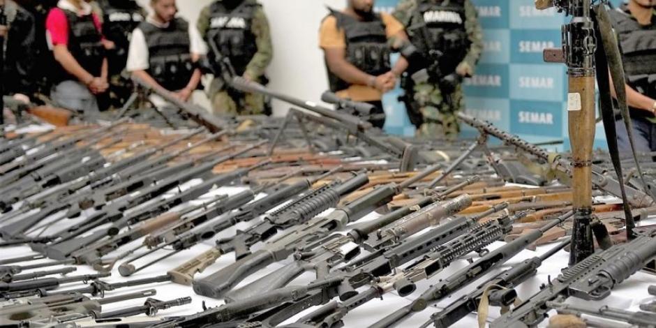 Pactan EU y México sellar fronteras contra tráfico de armas