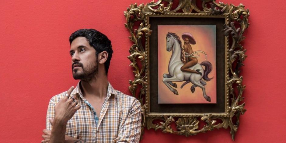 Fabián Cháirez: petición de retirar mi obra atenta contra libertad de expresión
