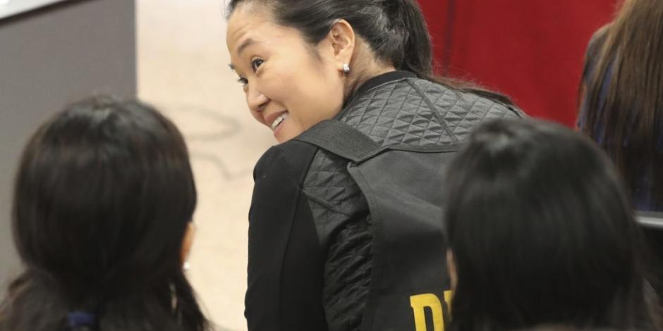 Tribunal de Perú aprueba liberación de Keiko Fujimori