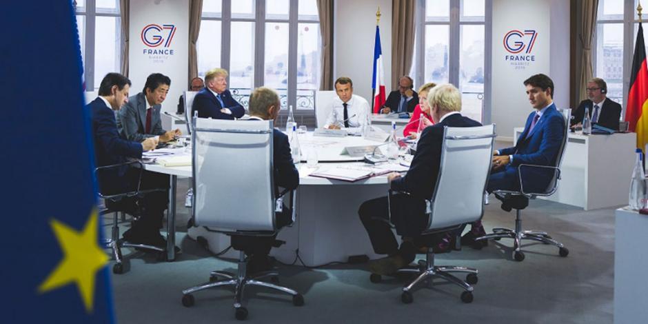 G7 acuerda destinar 20 mdd para combatir el fuego en la Amazonia