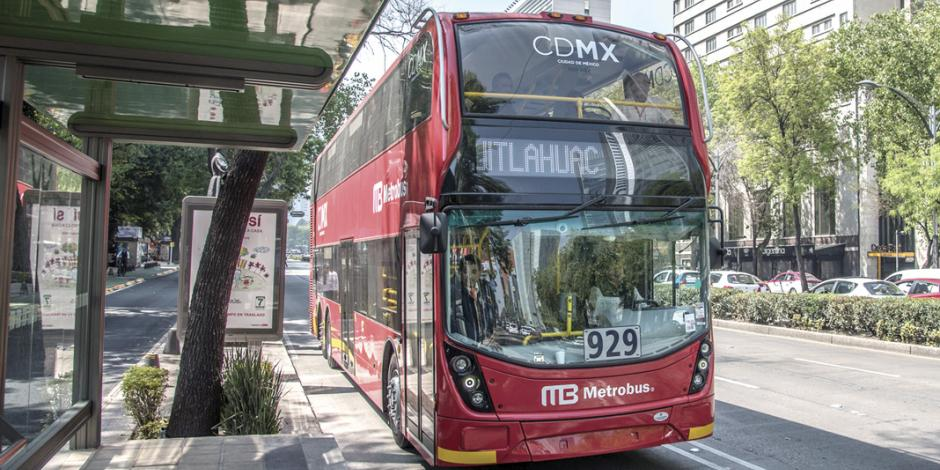 Estas son las estaciones del Metrobús afectadas por manifestación