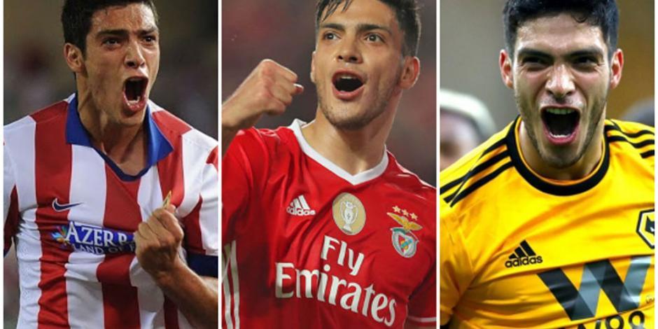 VIDEO: Estos son los goles de Raúl Jiménez en el futbol europeo