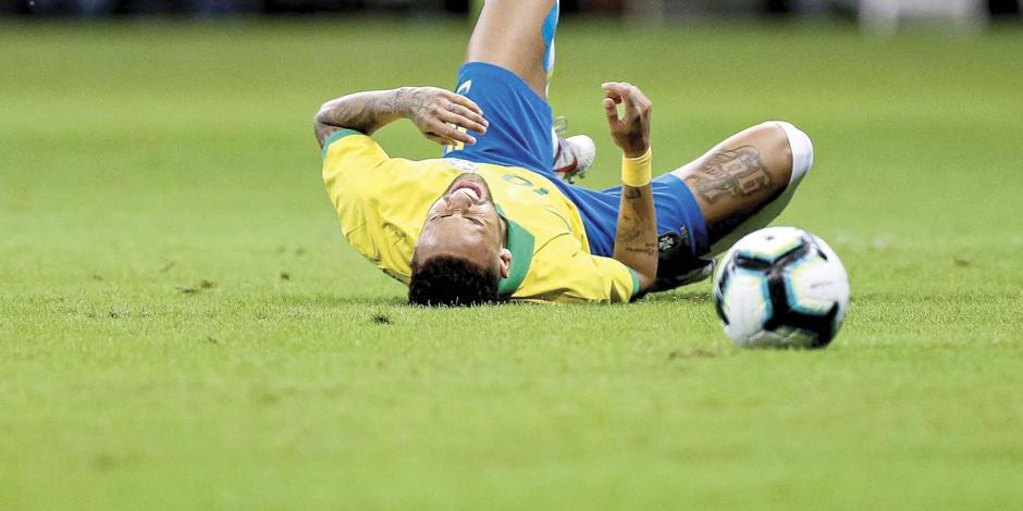 Hunden a Neymar en el último año