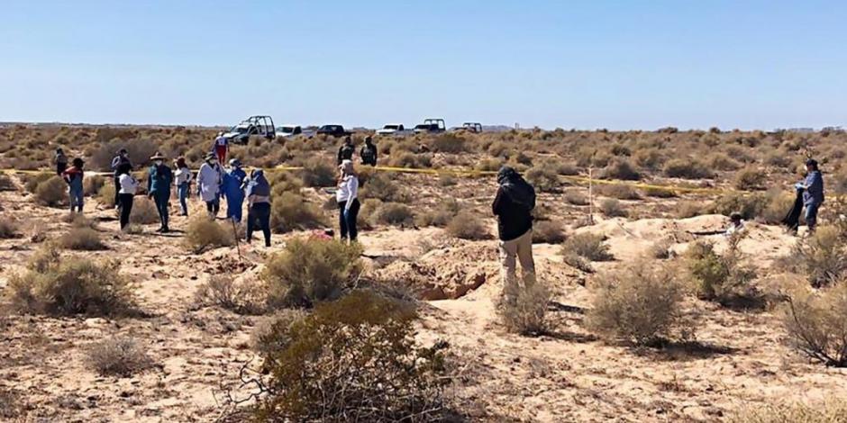 Madres de desaparecidos encuentran osamentas en Sonora y comando las intimida