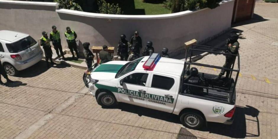 Ahora agreden a diplomáticas españolas al visitar Embajada mexicana en La Paz