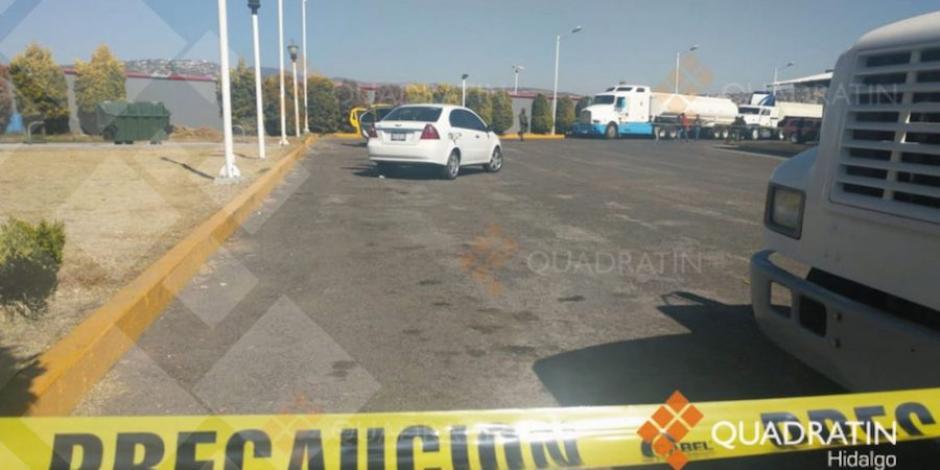 Detienen a 5 que pretendían vender huachicol en gasolinera de Hidalgo