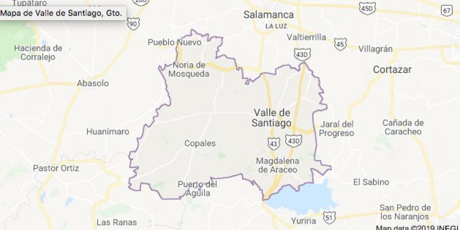 Asesinan a 5 detenidos en separos de Valle de Santiago, Guanajuato