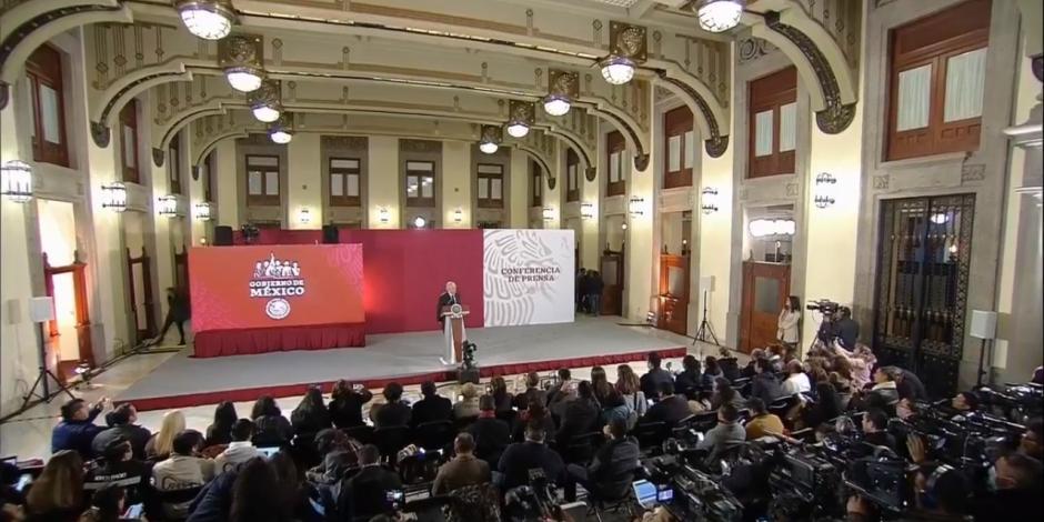 Andrés Manuel López Obrador y su mañanera del 15 de enero