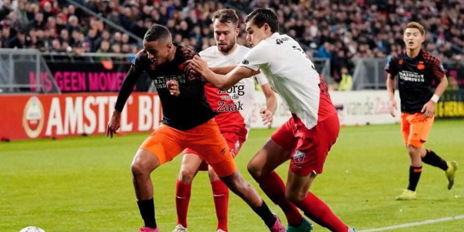 PSV pierde invicto en Holanda tras caer frente al Utrecht