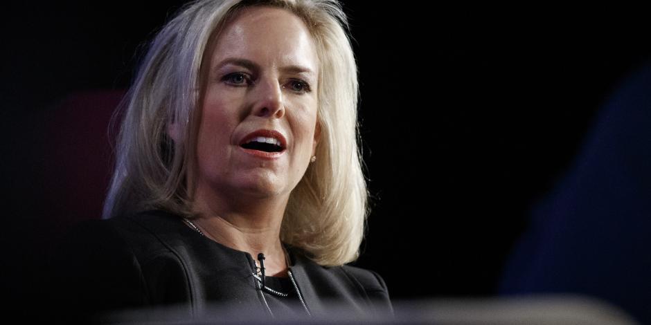 Anuncia Trump que Nielsen ya no será secretaria de Seguridad Nacional