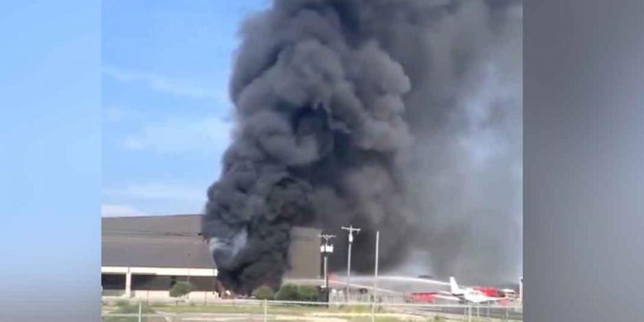 Avioneta se estrella en Texas y deja 10 muertos