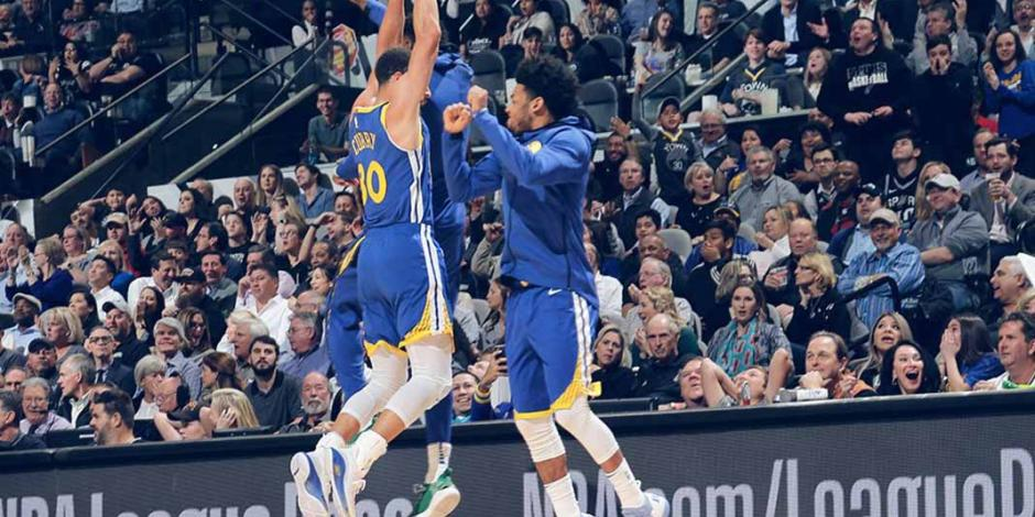 VIDEO: ¡Impresionante! Curry y su anotación de fantasía con los Warriors