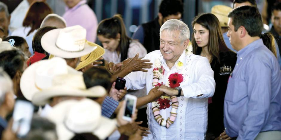 AMLO en Puebla: se acabaron los fraudes