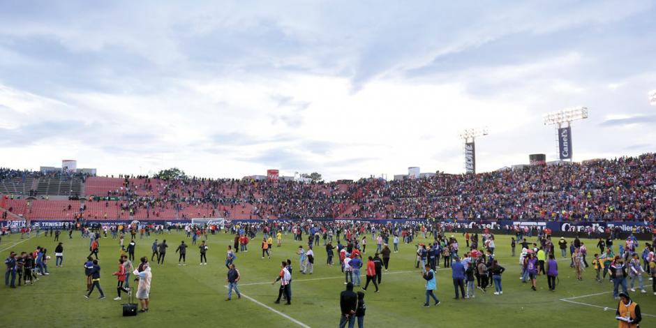 Estadio del Atlético de San Luis, vetado el resto del torneo