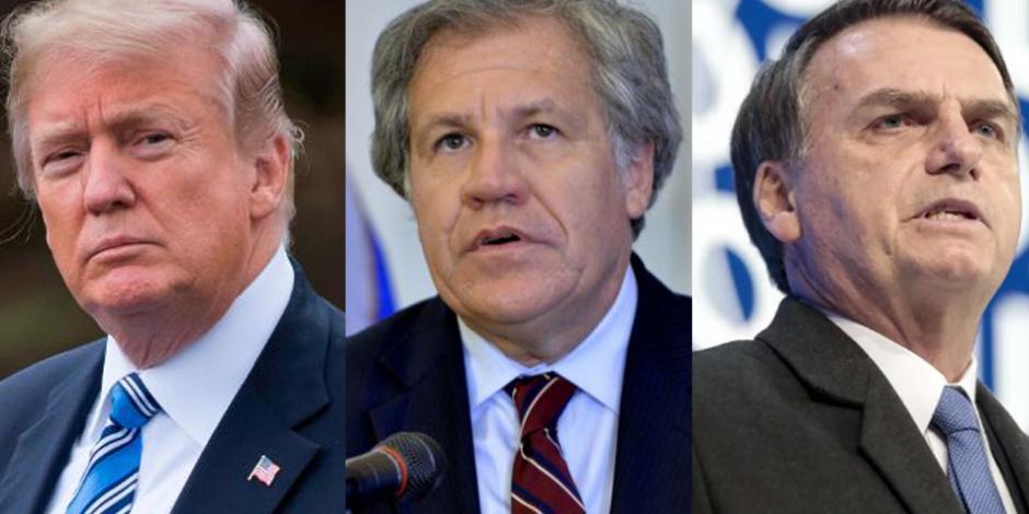 Líderes mundiales reconocen a Guaidó como presidente interino de Venezuela