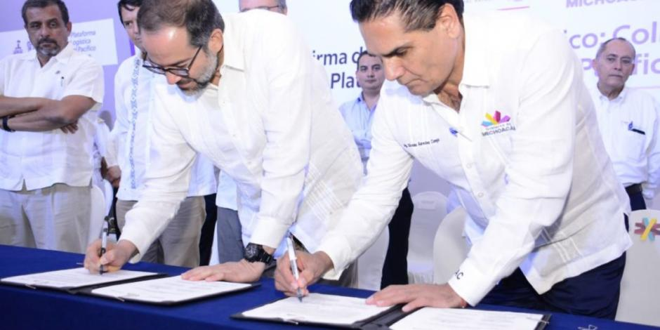 Van Michoacán y Colima por plataforma logística en el Pacífico