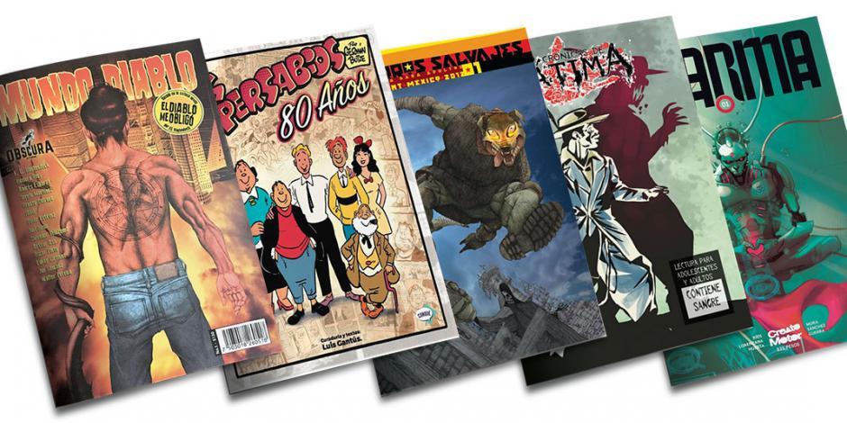 Sin editores ni distribuidores, apenas subsiste el cómic mexicano