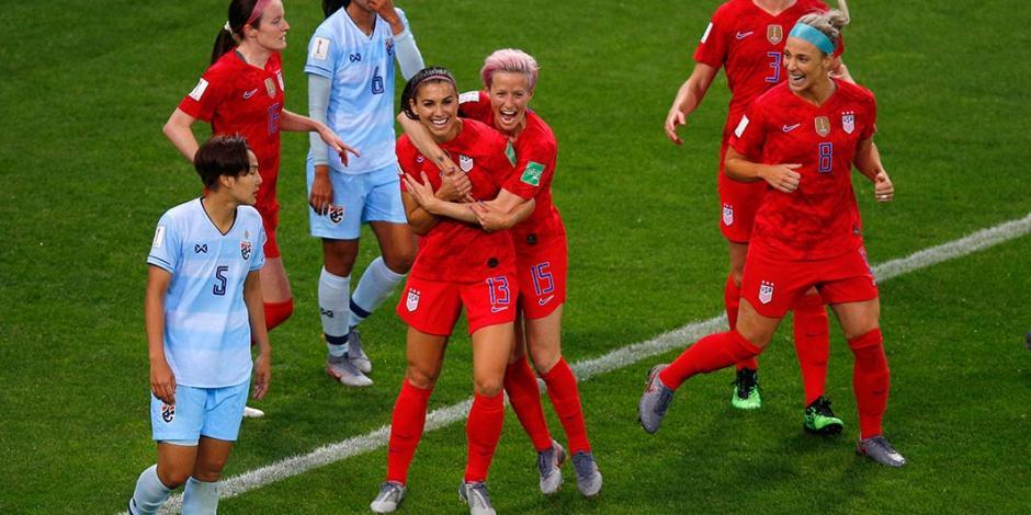 Se definen los cuartos de final del Mundial Femenil en Francia