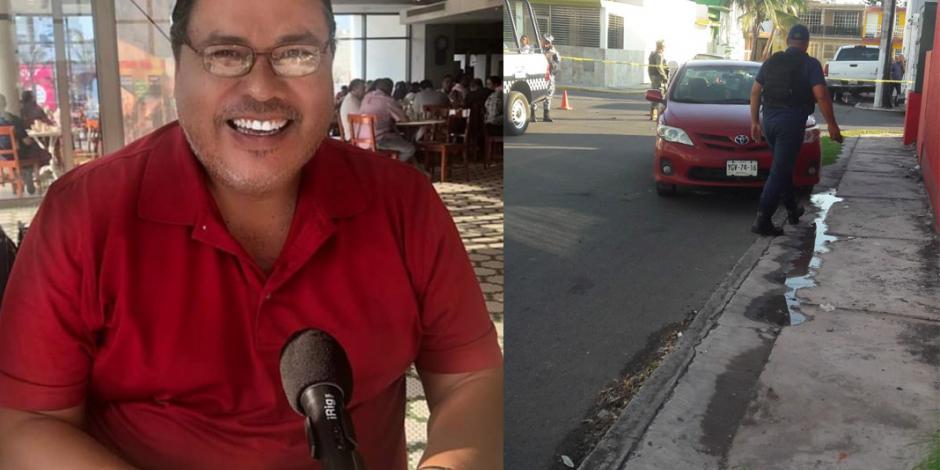 Secuestran al periodista Marcos Miranda Cogco en Veracruz
