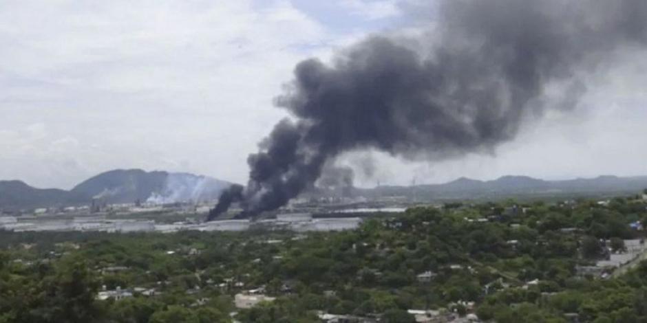 Controla Pemex fuga de tanque vacío en refinería de Salina Cruz