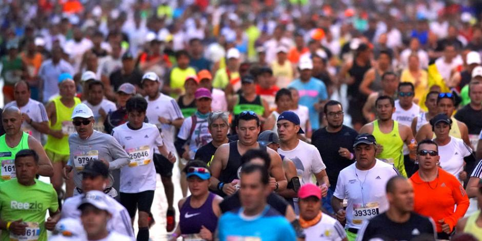 Maratón de la Ciudad de México estrena su Etiqueta Oro