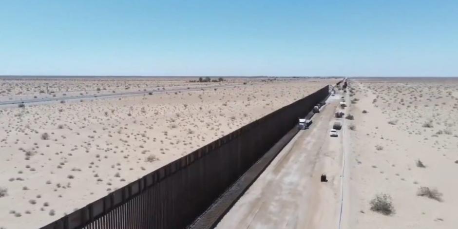 Promete Trump perdón a quien viole la ley al construir el muro