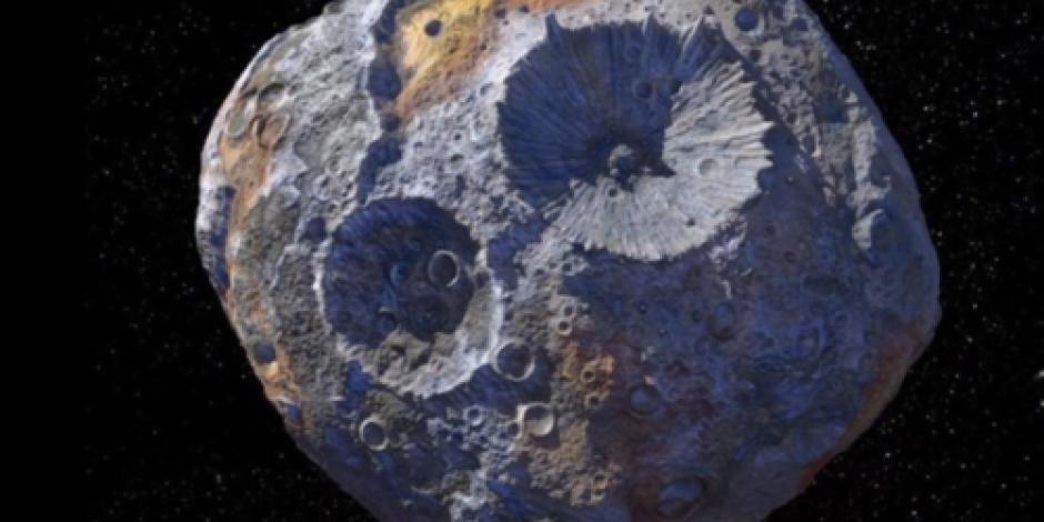 Asteroide puede convertir en multimillonarios a los habitantes de la Tierra