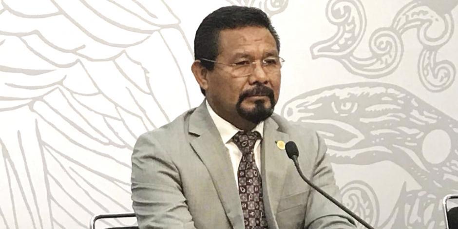 Cámara de Diputados concede licencia al morenista Cipriano Charrez