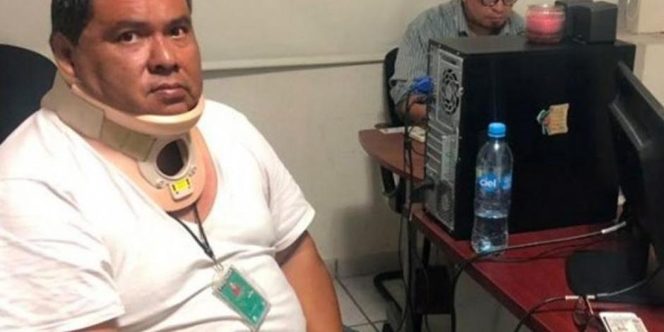 Rescatan al periodista Marcos Miranda Cogco en Veracruz