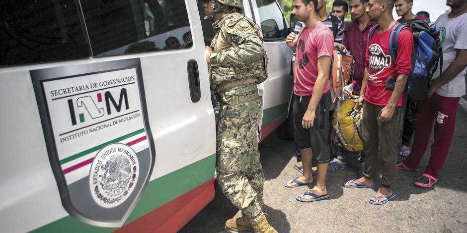 En Chiapas baja detención de migrantes; buscan otras rutas