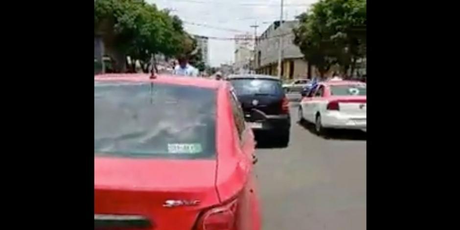 Atropella a 3, mata a mujer de la tercera edad y provoca choque en Coyoacán