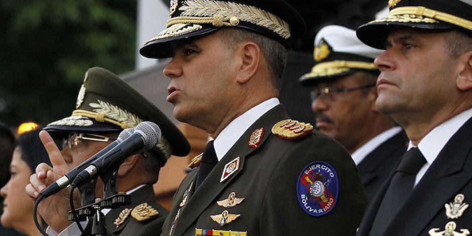 Los soldados no aceptamos a un presidente impuesto: Ministro de Defensa de Venezuela