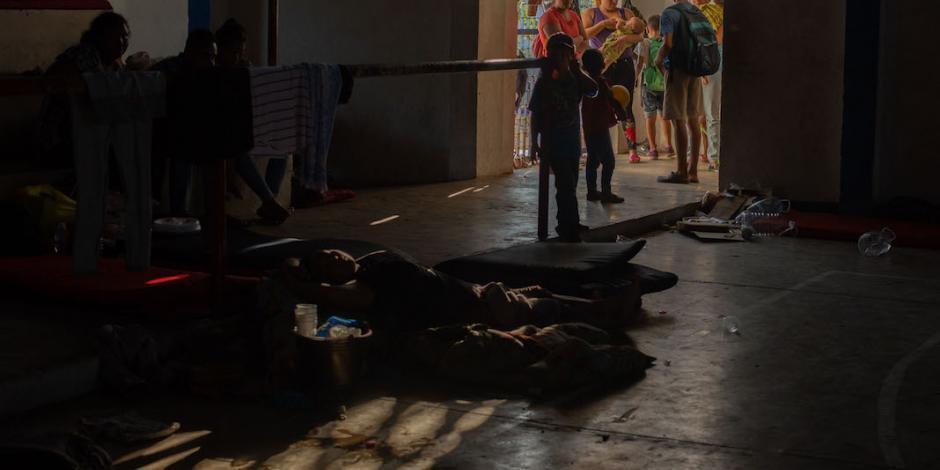 Crece 132 por ciento ingreso de niños migrantes a México