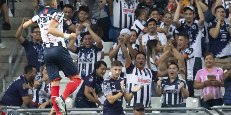 Monterrey derrota a unos Pumas que suman tercer descalabro