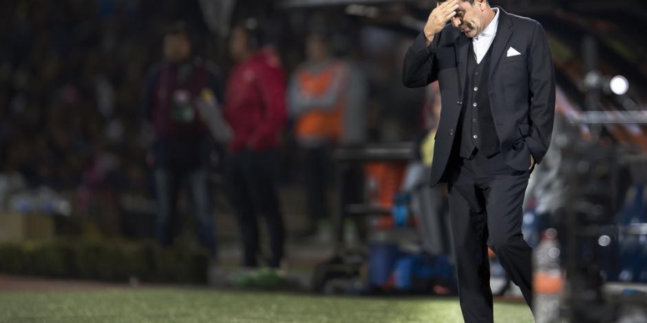 Patiño es cesado y deja al peor Pumas de los últimos 10 torneos