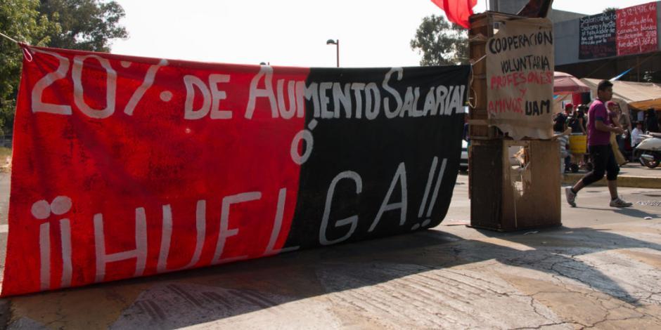 Sin acuerdos, concluye reunión entre UAM y sindicato; la huelga sigue