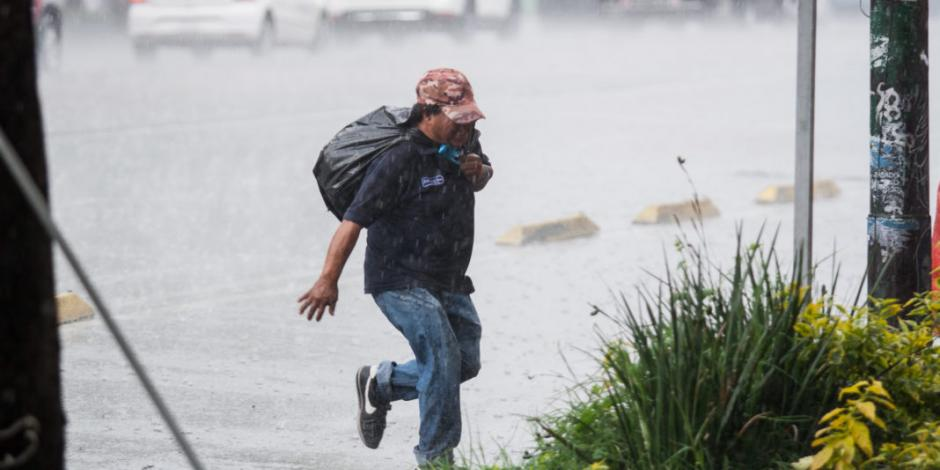 Por tormenta, activan Alerta Amarilla en 8 alcaldías de CDMX