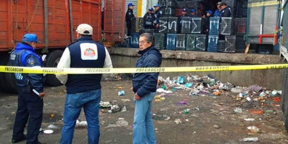 Tres lesionados y dos detenidos por asalto en Central de Abasto