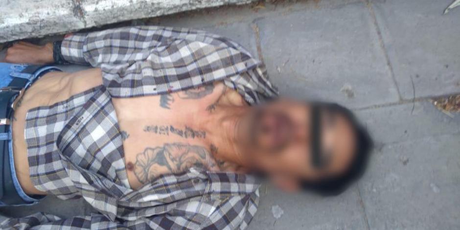 Pobladores linchan y queman a presunto delincuente en Tepeaca, Puebla