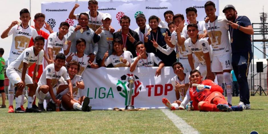 Pumas se proclama bicampeón en la Tercera División del futbol mexicano