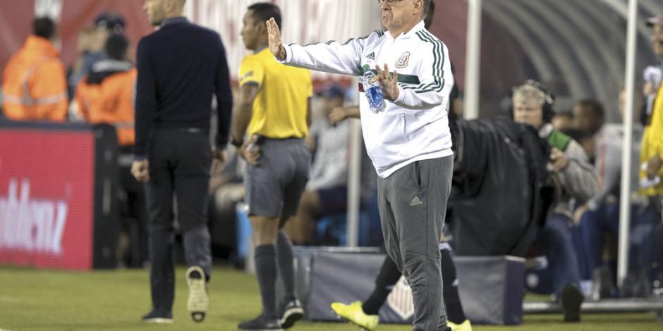 Martino señala que la Concacaf es la realidad del Tricolor