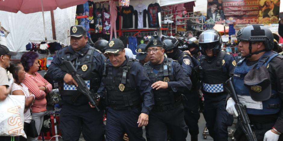 Balacera en vecindad de Tepito deja un muerto y un detenido