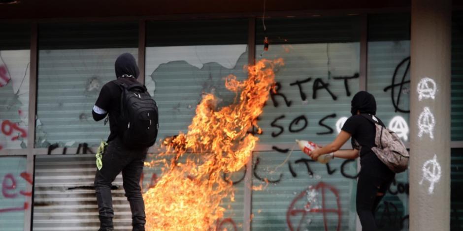 Denuncia UNAM ante Procuraduría robo y destrozos en Rectoría