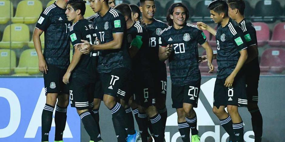 México Sub 17 golea a Islas Salomón y se meta a octavos del Mundial