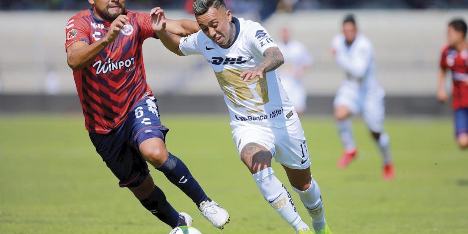 Gris y sin dianas arranca Pumas el Clausura 19