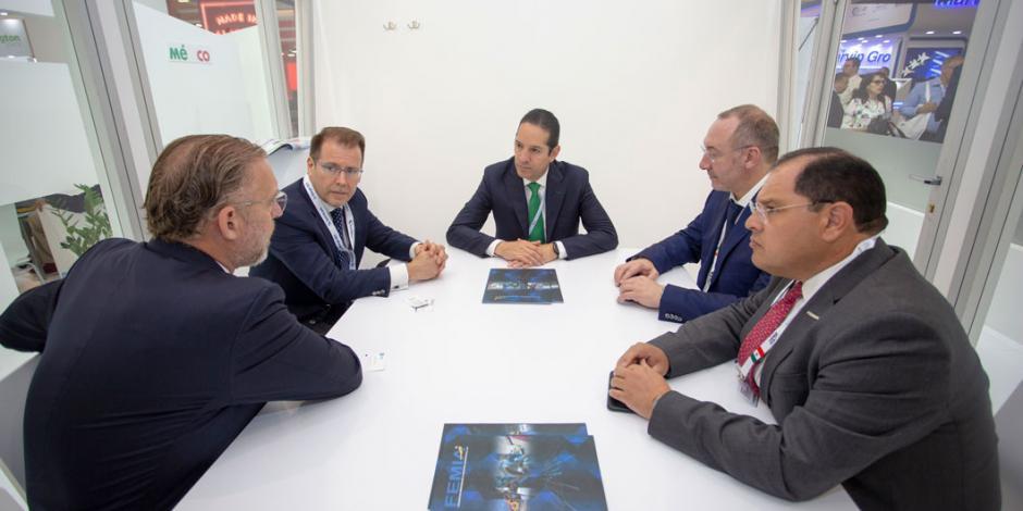 Anuncia gobernador de Querétaro 285 empleos más durante gira por Europa