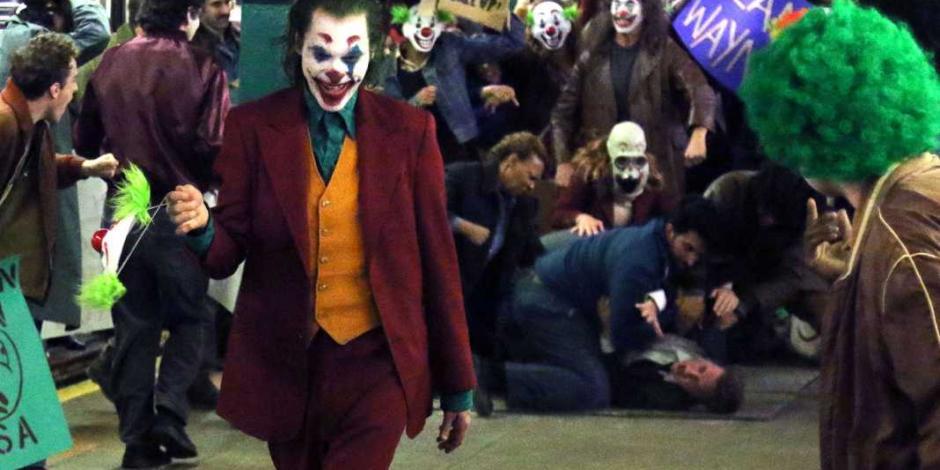 ¡De pie! Ocho minutos de aplausos a Joker, la obra maestra