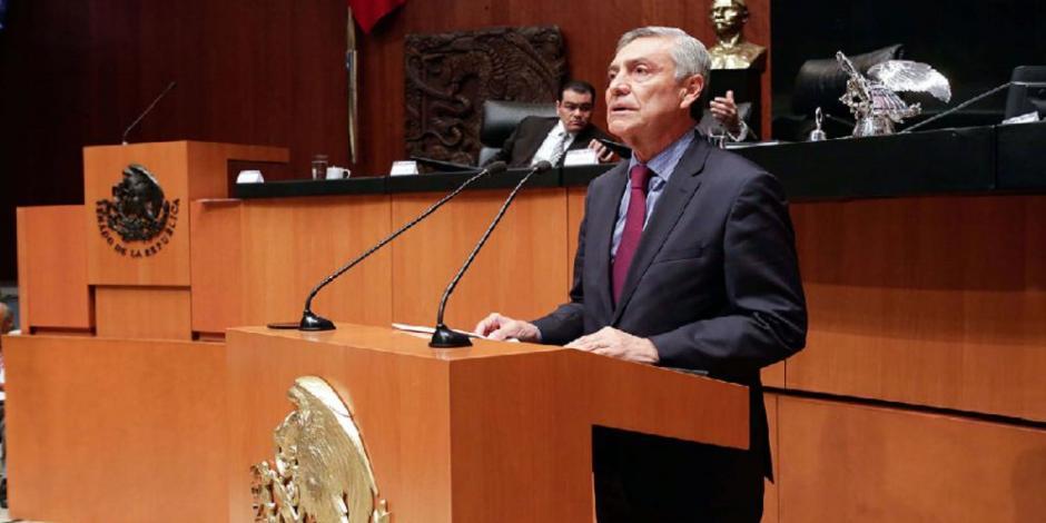 Investiga PGJ robo a departamento del senador Cristóbal Arias