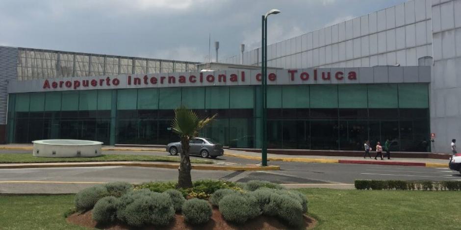 Gobierno va por 49% de las acciones de Aleatica en Aeropuerto de Toluca