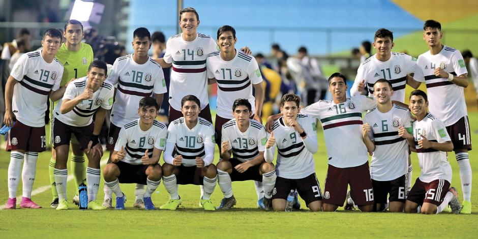 Por segunda vez, México vence a Japón en Sub 17